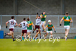 Paul Murphy, Kerry in action against Damien Comer, Galway during the Allianz Football League Division 1 South Round 1 match between Kerry and Galway at Austin Stack Park in Tralee.