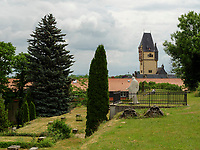Wiperti-Friedhof in Quedlinburg, Sachsen-Anhalt, Deutschland, Europa<br /> Wilperti cemetery in Quedlinburg, Saxony-Anhalt, Germany, Europe