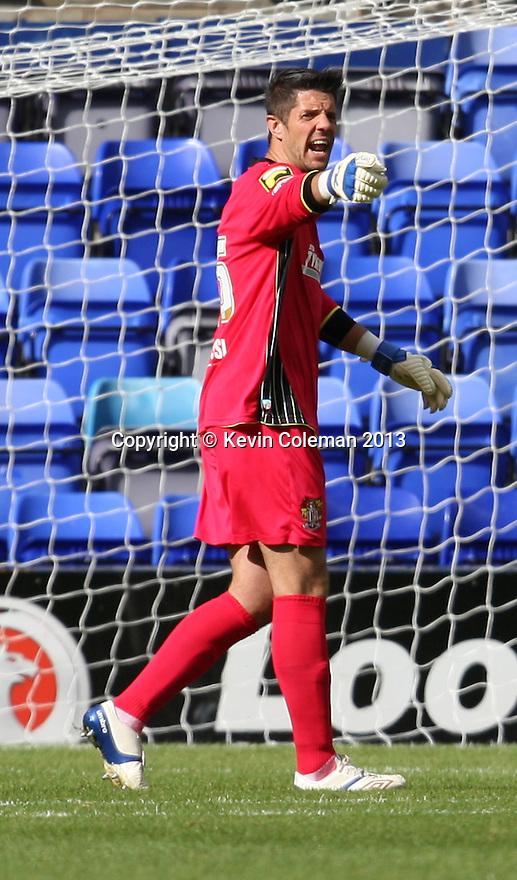 Chris Day of Stevenage<br />  - Tranmere Rovers v Stevenage - Sky Bet League One - Prenton Park, Birkenhead - 7th September 2013. <br /> © Kevin Coleman 2013