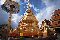 Temple Wat Phra That Doi Suthep, Chaing Mai, Thailand