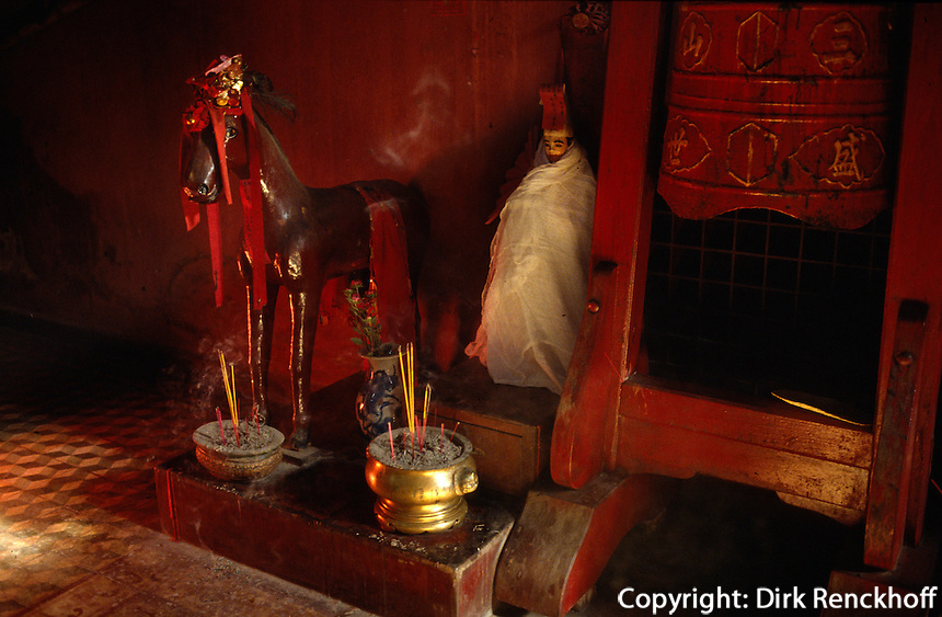 (Thien Hau) Tin Hau-Tempel in Saigon, Vietnam