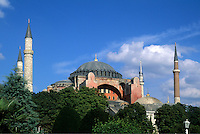 Beautiful Saint Sophia Church Hagai Sophia Built in 1453 in Istanbul Turkey
