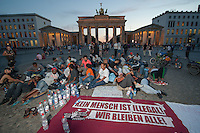 2014/07/17 Berlin | Flüchtlinge im Hungerstreik