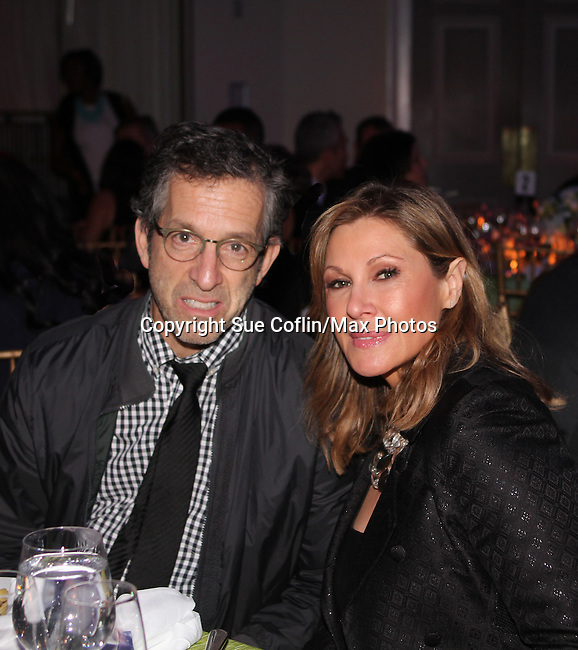 Kenneth Cole and wife Maria Cuomo Cole - The 11th Annual Skating with the Stars Gala - a benefit gala for Figure Skating in Harlem on April 11, 2016 on Park Avenue in New York City, New York with many Olympic Skaters and Celebrities. (Photo by Sue Coflin/Max Photos)