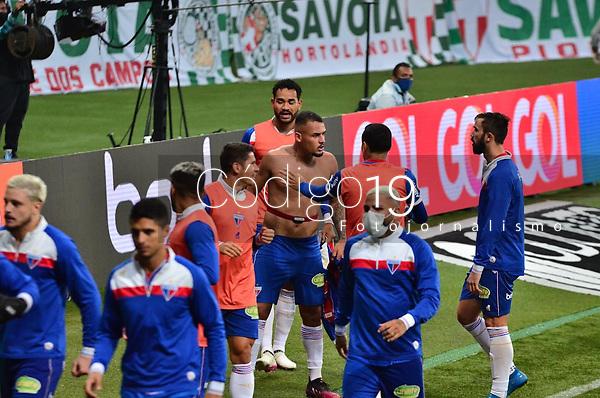 São Paulo (SP), 07/08/2021 - PALMEIRAS-FORTALEZA - Palmeiras e Fortaleza, a partida é válida pela 15ª rodada do Campeonato Brasileiro 2021, Allianz Parque, neste sábado (07).
