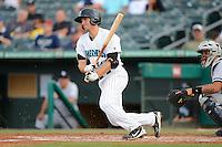 Jupiter Hammerheads shortstop Austin Nola (14) during a game against the Tampa Yankees on July 17, 2013 at Roger Dean Stadium in Jupiter, Florida.  Jupiter defeated Tampa 4-3.  (Mike Janes/Four Seam Images)