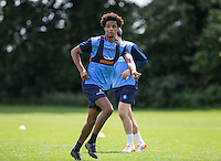 Side Jombati during the Wycombe Wanderers 2016/17 Pre Season Training Session at Wycombe Training Ground, High Wycombe, England on 1 July 2016. Photo by Andy Rowland / PRiME Media Images.