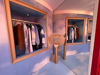 MIAMI, FL- JANUARY 11: LV Fashion Pop Up at Miami Design District Featuring Exclusive Virgil Abloh Collection on January 10, 2021 in Miami, Florida. Credit: mpi34/MediaPunch
