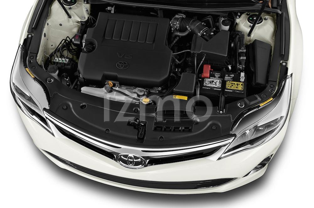 High angle engine detail of a  .2013 Toyota Avalon XLE