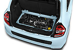 Car Stock 2015 Renault Twingo Intens 5 Door Hatchback 2WD Engine high angle detail view