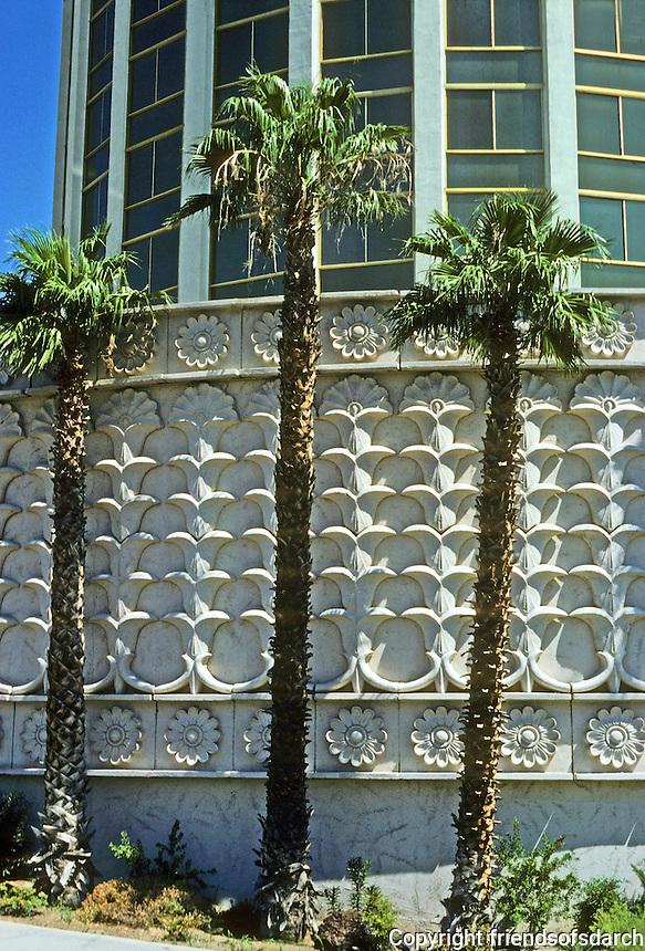 Las Vegas : The Alladin--exterior detail. Photo '79.