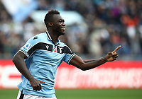 Football, Serie A: S.S. Lazio - Spal, Olympic stadium, Rome, February 2, 2020. <br /> Lazio's Felipe Caicedo celebrates after scoring during the Italian Serie A football match between S.S. Lazio and Spali at Rome's Olympic stadium, Rome , on February 2, 2020. <br /> UPDATE IMAGES PRESS/Isabella Bonotto