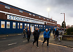 Stockport fans leaving the ground at full time. Stockport County v Barnet, 07032020. Edgeley Park, National League. Photo by Paul Thompson.