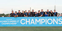 Bradenton, FL - Sunday, June 12, 2018: CONCACAF Awards, USA staff during a U-17 Women's Championship Finals match between USA and Mexico at IMG Academy.  USA defeated Mexico 3-2 to win the championship.