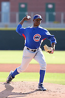 Alberto Cabrera, Chicago Cubs 2010 minor league spring training..Photo by:  Bill Mitchell/Four Seam Images.