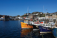Fishing Boats at Oban Harbour, Oban, Argyll & Bute<br /> <br /> Copyright www.scottishhorizons.co.uk/Keith Fergus 2011 All Rights Reserved