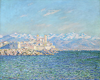 Claude Monet - Antibes, Afternoon Effect (1888). Boston, Museum of Fine Arts.