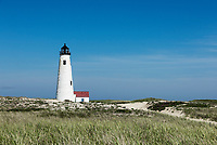 Great Point lighthouse, Nantucket, Massachusetts, USA.