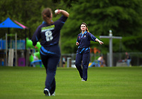 Action from the Joy Lamason One Day Wellington premier women's division one cricket match between Upper Hutt United and Johnsonville at Trentham Memorial Park in Upper Hutt, New Zealand on Saturday, 11 November 2020. Photo: Dave Lintott / lintottphoto.co.nz