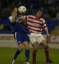 06/08/2002                   Copyright Pic : James Stewart.File Name : stewart-st john v hamilton 07.IAN MAXWELL GETS AN ELBOW IN TH FACE FROM MARK NELSON.....Payments to :-.James Stewart Photo Agency, 19 Carronlea Drive, Falkirk. FK2 8DN      Vat Reg No. 607 6932 25.Office     : +44 (0)1324 570906     .Mobile  : +44 (0)7721 416997.Fax         :  +44 (0)1324 570906.E-mail  :  jim@jspa.co.uk.If you require further information then contact Jim Stewart on any of the numbers above.........