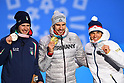 PyeongChang 2018: Biathlon: Men's Medal Ceremony