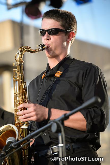 Jazz St. Louis presence at St. Louis Art Fair 2012