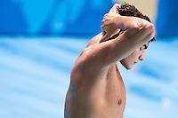 Dejection players ITALY<br /> GREECE vs ITALY<br /> GRE vs ITA<br /> Waterpolo - Men's 3rd-4th place <br /> Day 16 08/08/2015<br /> XVI FINA World Championships Aquatics Swimming<br /> Kazan Tatarstan RUS July 24 - Aug 9 2015 <br /> Photo Giorgio Perottino/Deepbluemedia/Insidefoto