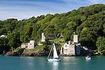 Great Britain, England, Devon, Dartmouth: Dartmouth Castle, built in the 15th century | Grossbritannien, England, Devon, Dartmouth: Dartmouth Castle, erbaut im 15. Jahrhundert