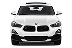 Car photography straight front view of a 2018 BMW X2 Premiere 5 Door SUV Front View