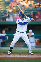 South Bend Cubs designated hitter Alberto Mineo (47) at bat during a game against the Burlington Bees on July 22, 2016 at Four Winds Field in South Bend, Indiana.  South Bend defeated Burlington 4-3.  (Mike Janes/Four Seam Images)