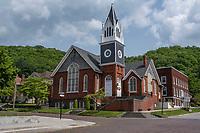 Hinton, West Virginia. First United Methodist Church.