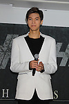 Kim Si-Hyoung (HISTORY), Aug 26, 2015 : South Korean pop group HISTORY attends the promotional event in Tokyo, Japan on August 26, 2015. (Photo by AFLO)