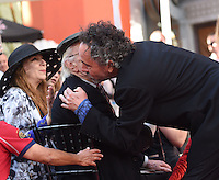 Tim Burton + Martin Landau @ hand and foot prints ceremony held @ the TCL Chinese theatre. September 8, 2016