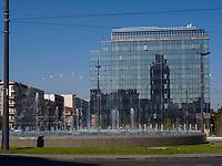 Platz Trg Slavija, Belgrad, Serbien, Europa<br /> square Trg Slavija, Belgrade, Serbia, Europe