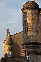 Europe/France/Poitou-Charentes/17/Charente-Maritime/Ile de Ré/Ars-en-Ré: Ancien hôtel particulier du XVIe siècle.<br /> Hôtel: Le Sénéchal<br /> Plus beaux Villages de France