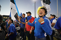 SAN JOSE, CA - JUNE 26: Fans during a game between Los Angeles Galaxy and San Jose Earthquakes at PayPal Park on June 26, 2021 in San Jose, California.