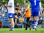 Donal Moloney, Clare joint manager during their Munster  championship round robin game at Cusack Park Photograph by John Kelly.