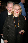 Barbara Cook & Harvey Evans arriving for the Opening Night Performance of the Roundabout Theatre Company's Broadway Production of 110 IN THE SHADE at Studio 54 in New York City.<br />