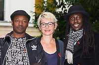MC SOLAAR, ANNE A. R., FAADA FREDD - CONFERENCE DE PRESSE SOLIDAYS 2016 'SOLIDAYS OF LOVE'