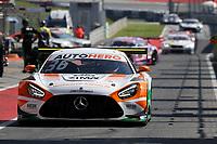 4th September 2021; Red Bull Ring, Spielberg, Austria; DTM  Race 1 at Spielberg;   Arjun Maini IN Mercedes-AMG Team GetSpeed, Mercedes-AMG GT s Pakusch