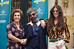 """Sara Moraleda, Anabel Alonso and Fede Celada during Presentation of season 8 of the television series """"Amar es Para siempre"""" on the plate of the series,on September 12, 2019 in Pozuelo, Madrid, Spain.<br /> (ALTERPHOTOS/Yurena Paniagua)"""