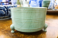 BNPS.co.uk (01202) 558833<br /> Pic: StamfordAuctionRooms/BNPS<br /> <br /> A Chinese bowl that was kept on a sideboard for years has sold for almost £400,000 after it turned out to be a 900-year-old relic.<br /> <br /> The unmarked 5ins tall censer bowl belonged to an elderly couple who put it to one side on a dining room dresser in their home.<br /> <br /> After they both passed away relatives invited auctioneers to their detached home in a Lincolnshire village to value an eclectic mix of antiques the couple collected.