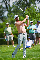 5th June 2021; Dublin, Ohio, USA; Chris Kirk (USA) watches his tee shot on 12 during the Memorial Tournament Rd3 at Muirfield Village Golf Club on June 5, 2021 in Dublin, Ohio.