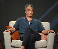 """BEVERLY HILLS, CA - AUGUST 4: Co-Creator/Executive Producer/Writer Taika Waititi attends the FX Networks 2021 Summer Television Critics Association session for """"Reservation Dogs"""" at the Beverly Hilton on August 4, 2021 in Beverly Hills, California. (Photo by Frank Micelotta/FX/PictureGroup)"""