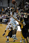 13 December 2008: Tim Ambrose of Albany fires a short jumper in a game between Canisius and Albany won by Albany 74-46 at SEFCU Arena in Albany, New York.