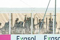 Spieler im blickdichten Fitnesszelt - Seefeld 31.05.2021: Trainingslager der Deutschen Nationalmannschaft zur EM-Vorbereitung