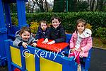Enjoying the playground in the Killarney National park on Sunday, l to r: Oliver, Ava and Jack Hartnett and Zara Foley.