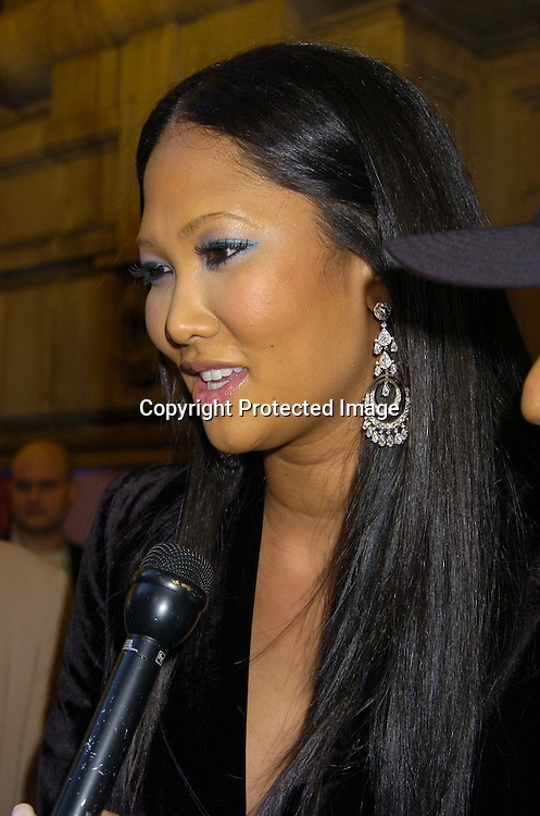 """Kimora Lee Simmons ..at The Broadway opening night of """"Steel Magnolias"""" ..on April 4, 2005 at The Lyceum Theatre. ..Photo by Robin Platzer, Twin Images"""