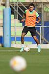 Getafe CF's Mathias Olivera during training session. August 26,2021.(ALTERPHOTOS/Acero)