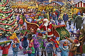 Interlitho-Marcello, CHRISTMAS SANTA, SNOWMAN, WEIHNACHTSMÄNNER, SCHNEEMÄNNER, PAPÁ NOEL, MUÑECOS DE NIEVE, paintings+++++,sana marketplace,KL6191,#x# ,puzzle,puzzels